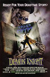 <i>Demon Knight</i> 1995 American horror comedy film by Ernest Dickerson