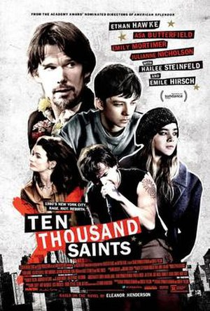Ten Thousand Saints - Theatrical release poster