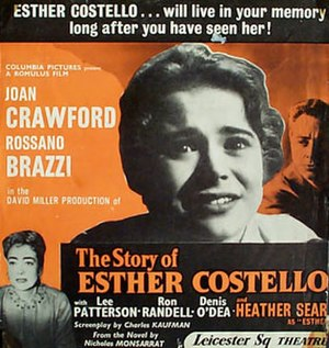 The Story of Esther Costello - Original theatrical poster