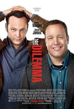 The Dilemma - Theatrical release poster