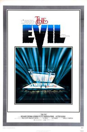 The Evil (1978 film) - Theatrical Poster