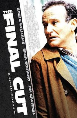 The Final Cut (2004 film) - Theatrical release poster