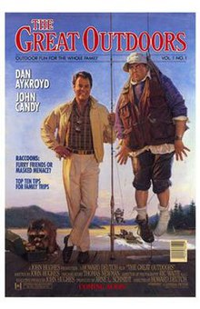 John Candy Great Outdoors Bear