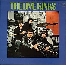 The Live Kinks cover, the US version of Live at Kelvin Hall