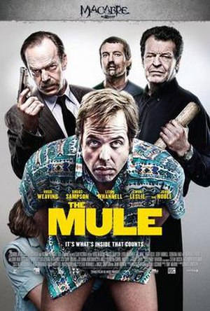 The Mule (2014 film) - Promotional poster