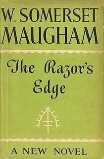 <i>The Razors Edge</i> 1944 novel by William Somerset Maugham