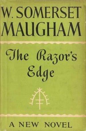 The Razor's Edge - First edition