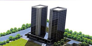 Notre Dame University Bangladesh - The proposed building for the permanent campus of NDUB