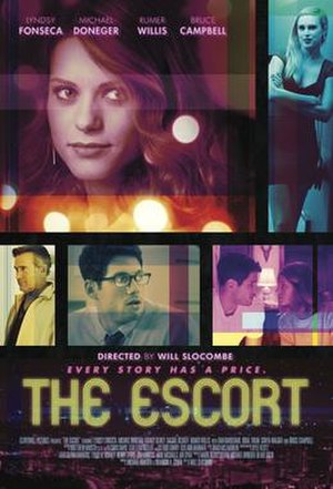 The Escort (2015 film) - Theatrical release poster