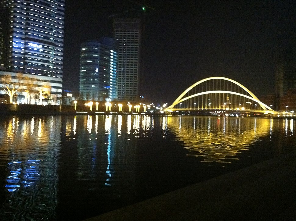 Tianjing Nightline River