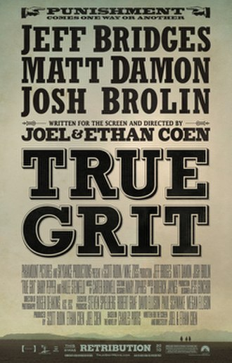 True Grit (2010 film) - Theatrical release poster