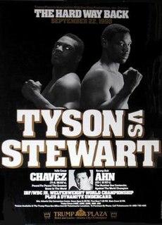 Mike Tyson Vs Alex Stewart