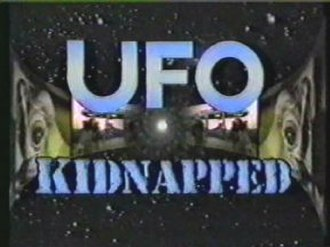 UFO Kidnapped - Title card and scene from the opening