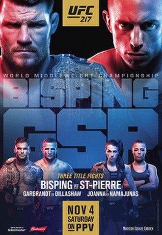 UFC 217 - Image: Ufc 217 poster