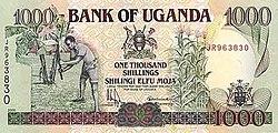 definition of ugandan shilling