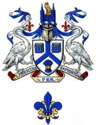 University of Lincoln - Image: University of Lincoln coat of arms
