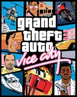 <i>Grand Theft Auto: Vice City</i> 2002 open world action-adventure video game developed by Rockstar North