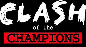 Clash of the Champions - The Clash of the Champions logon from 1994 to 1997