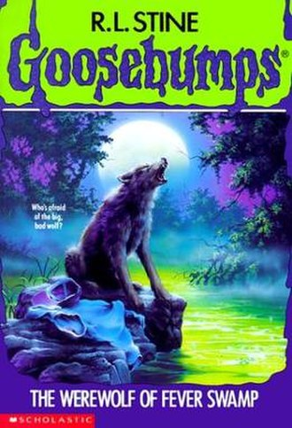 The Werewolf of Fever Swamp - First edition cover