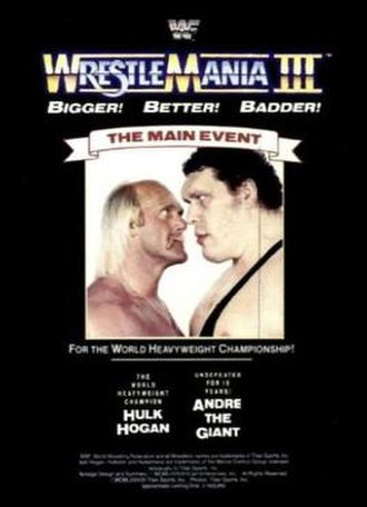 WrestleMania III - Image: Wrestle Mania III