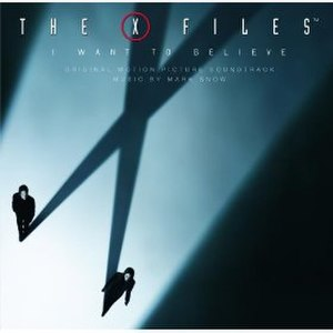 The X-Files: I Want to Believe: Original Motion Picture Score - Image: X Files IWTB Album Cover