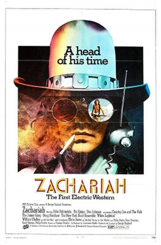 Zachariah (film) - Theatrical release poster
