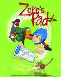 <i>Zekes Pad</i> animated TV show