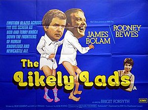 The Likely Lads (film) - UK theatrical poster