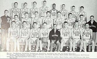 1951–52 Illinois Fighting Illini men's basketball team - Image: 1951–52 Illinois Fighting Illini men's basketball team