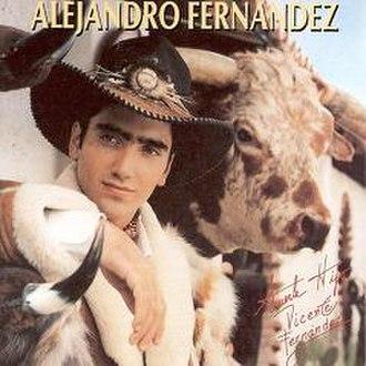 Alejandro Fernández (album) - Image: 1992Alejandro Fernandez