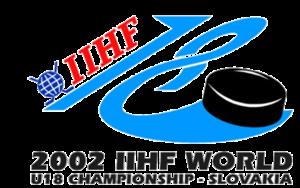 2002 IIHF World U18 Championships - Image: 2002 IIHF World U18 Championships