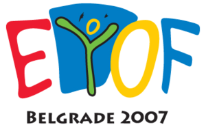 2007 European Youth Summer Olympic Festival - Image: 2007 European Youth Summer Olympic Festival logo