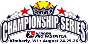 2007 National Pro Fastpitch season - Image: 2007 NPF Championship