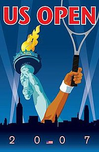 2007 US Open (tennis) poster.jpg