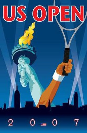 2007 US Open (tennis) - Image: 2007 US Open (tennis) poster