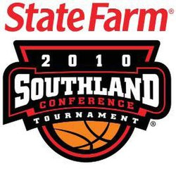 2010 Southland Conference men's basketball tournament logo.JPG