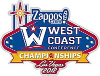 2012 WCC Tournament Logo