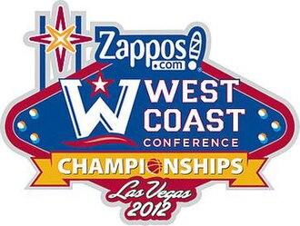 2012 West Coast Conference Men's Basketball Tournament - 2012 WCC Tournament Logo