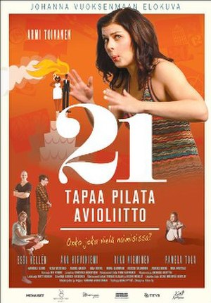 21 tapaa pilata avioliitto - Theatrical poster
