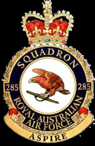 No. 285 Squadron RAAF - No. 285 Squadron's crest