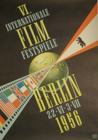 6th Berlin International Film Festival - Festival poster