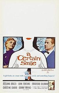 <i>A Certain Smile</i> (film) 1958 film