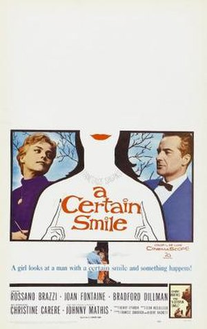 A Certain Smile (film) - Theatrical poster