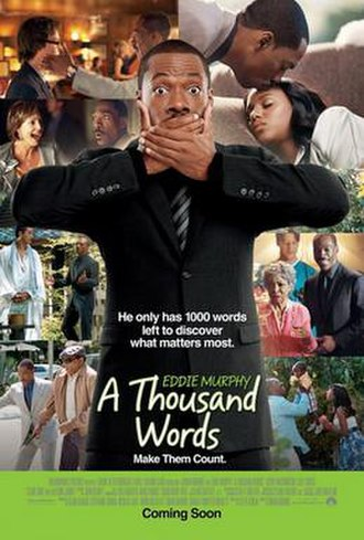 A Thousand Words (film) - Theatrical release poster