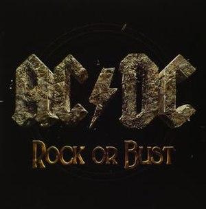 Rock or Bust (song) - Image: Acdcrockorbustsingle