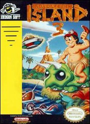 Adventure Island 3 - Cover art