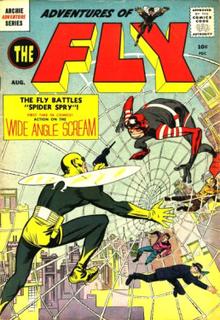 Fly (Archie Comics) comic book superhero by Archie Comics