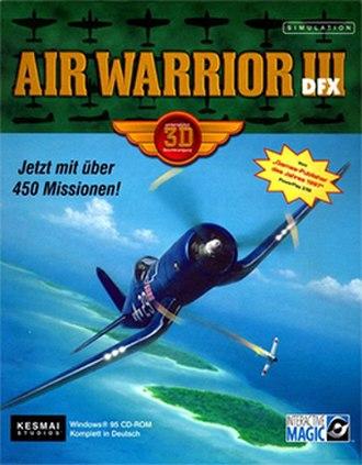 Air Warrior - Image: Air Warrior III Coverart