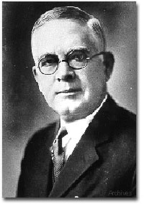Florida Blue Key - President Albert Murphree