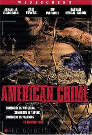 American Crime (film) - Image: American Crime DVD cover
